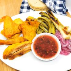 Pollo Crunch Completo