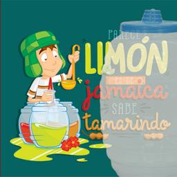 Agua de jamaica, que parece de limón pero sabe a tamarindo