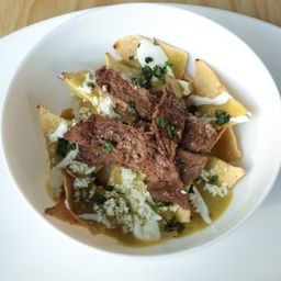 Chilaquiles con Carne