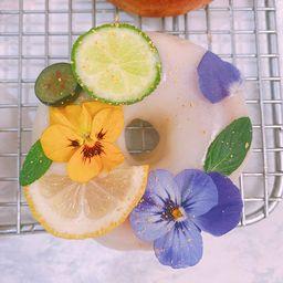 Keto dona de limón