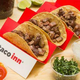 Combo 3 Tacos Arrachera