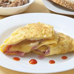 2x1 Omelette de Jamón