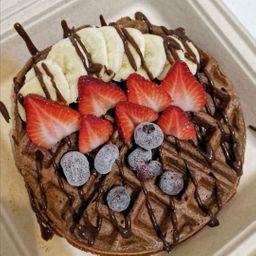 Waffle de Proteína