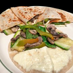 Quesadillas con Vegetales
