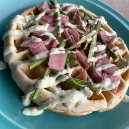 Waffle Espárragos