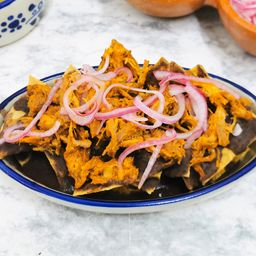 Chilaquiles de Cochinita