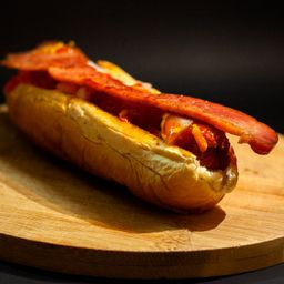 Hot Dog con Tocino
