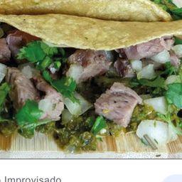2 Tacos de Arrachera