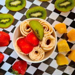Helado de Mango, Fresa y Kiwi