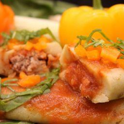 Tamal Chiapaneco de Verduras con Pollo