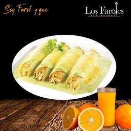 Enchiladas Farolas