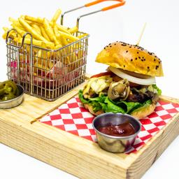 Casa de Pitufo Burger