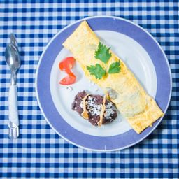 Omelette Camarón