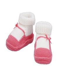 Baby Room Zapatos Crochet Fucsia 0-3 Meses ZNB06