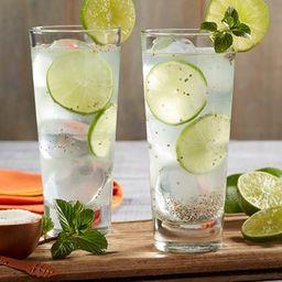 Agua  Limón con Chía Chica
