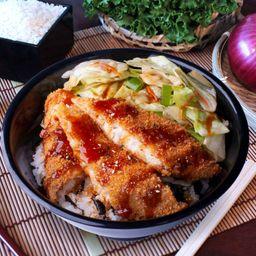 Sakana Fry Don Salsa Teriyaki