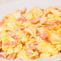 Huevos con Jamón en Combo