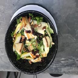 Ensalada mexicanita con pescado