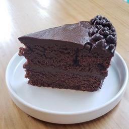 Pastel de Chocolate y Cacao Nibs Vegan