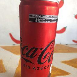 Coca Cola sin Azucar 473ml.