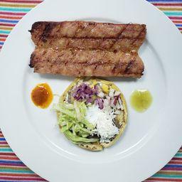 Sopecitos con Chorizo Argentino