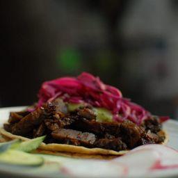 Taco de Arrachera Marinada