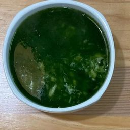 Sopa de Espinaca con Jaiba