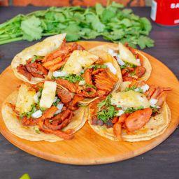 Orden de 5 Tacos de Pastor