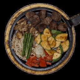 Teppanyaki Filete de Res