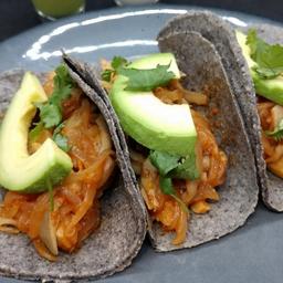 Tacos Tinga de Setas