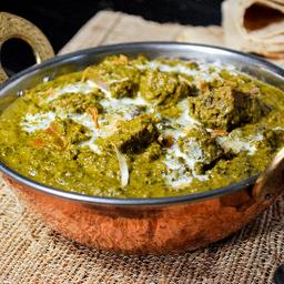 Meat Saagwala