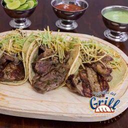 Tacos Arrachera con Chistorra Orden (3)