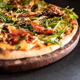 Pizza Arúgula y Jamón Serrano