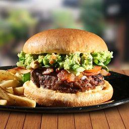 Burger Guacamole Bacon