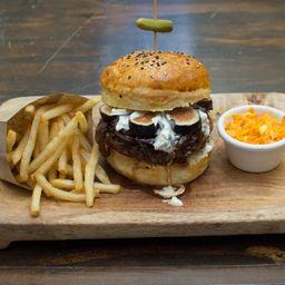 Combo Figs & Bluecheese Burger