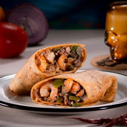 Combo Burrito Camarón