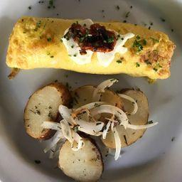 Omelette con Espárragos