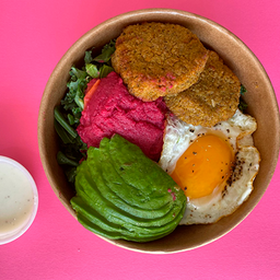 2x1 Falafel&Egg Breakfast Bowl