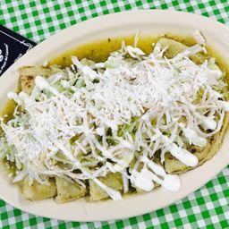 Enchiladas Verdes Tradicionales