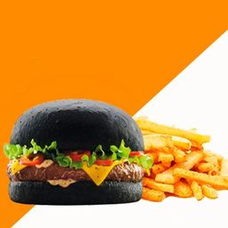 Hamburguesa Blackburger Sencilla