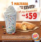 Malteada M&M + Pay de Manzana