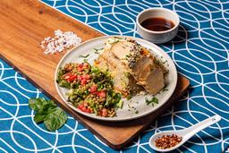 Paquete 5: Fit bowl de Quinoa con pollo y lasaña de carne.