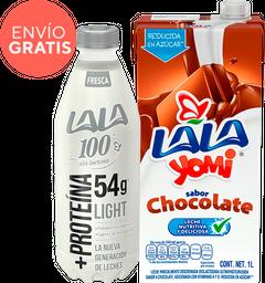 Rappicombo Yomi Chocolate + Lala 100
