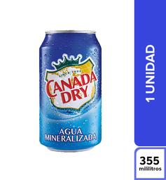 Agua Mineral Canada Dry Mineral 355 ml