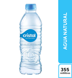 Agua Natural Cristal 355 ml