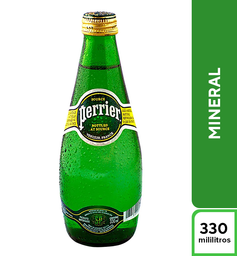 Agua Perrier Mineral 330 ml