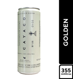 Cayaco Lager Golden 355 ml