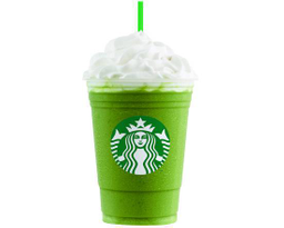 Green Tea Cream Frappuccino