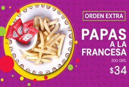 Papas a la Francesa