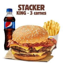 Mega Stacker King 3 Carnes